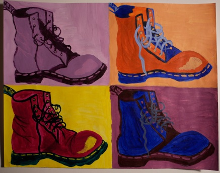 Painted Doc Martens